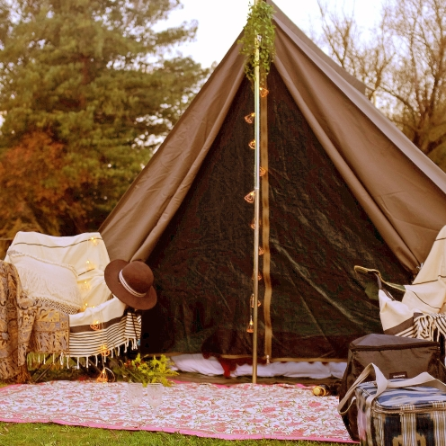Small things that count tent